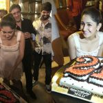 Sayesha Saigal, sayyeshaa, birthday celebration,  (1)