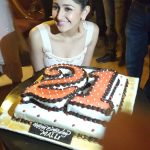 Sayesha Saigal, sayyeshaa, birthday celebration, 2018 Celebration