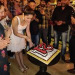 Sayesha Saigal, sayyeshaa, birthday celebration, cute actress