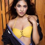 Shivani Singh, Spicy, yellow bra