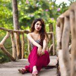 Shivani Singh, pink fit, unseen, stunning