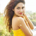 Shivani Singh, yellow dress, new look