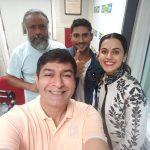 Taapsee Pannu, selfie, team