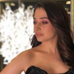 Tamannaah, half dress, closeup
