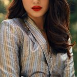 Tamannaah, red lips, loose hair