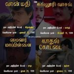 Thala, Ajith, Movie List (2)
