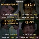 Thala, Ajith, Movie List (3)