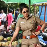 Thimiru Pudichavan, Nivetha Pethuraj, latest, hd, police dress, wallpaper