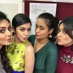 Vidya Pradeep, girls, Iravukku Aayiram Kangal