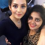 Vidya Pradeep, selfie, friends, kalari