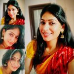 Vijayalakshmi, Bigg boss tamil 2, vijay tv, red saree
