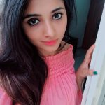 Adhiti Menon, Kalavani Mappillai actress, selfie, pink lips