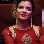 Aishwarya Rajesh,  Tamil Girl, Event, red dress