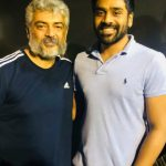 Ajith, Viswasam Shooting Spt, different getup