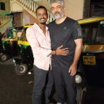 Ajith, Viswasam Shooting Spt, hug