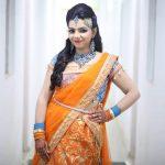 Akshaya Prithvirajan, half saree, gorgeous