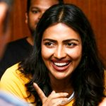 Amala Paul, Ratsasan Actress, smile, favorable, press meet