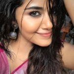 Anupama Parameswaran, latest, selfie, saree