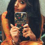 Anupama Parameswaran, mobile, selfie, Hello Guru Premakosame