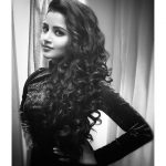 Anupama Parameswaran, photoshoot, hair style, black dress