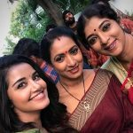 Anupama Parameswaran, selfie, actress, shooting