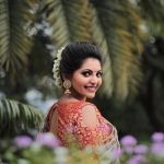 Athulya Ravi, saree, smile, recent