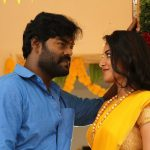 Billa Pandi, Rk Suresh, Indhuja, love, yelloe saree