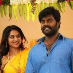 Billa Pandi, Rk Suresh, Indhuja, saree, tamil movie