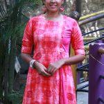 Chandini Tamilarasan, Raja Ranguski heroine, pink dress, 2018