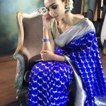Dayana Erappa, saree, shy, simbu lover name