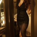 Disha Patani, photo shoot, black dress, glamour
