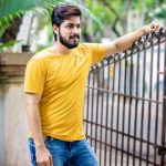 Harish Kalyan, casual, yellow dress