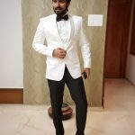 Harish Kalyan, rare, white dress, stylish