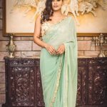 Heeba Patel, event, saree