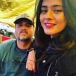 Heeba Patel, selfie, boy