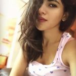 Iswarya Menon, Top 10 Selfies, Loose hair, beautiful