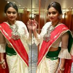 Keerthy Suresh, saree, unseen, traditional dress