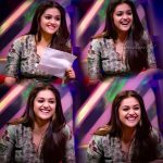 Keerthy Suresh, smile, collage, wallpaper, Sarkar