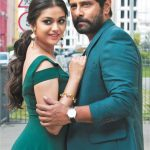 Keerthy Suresh, vikram, Saamy Square, wallpaper