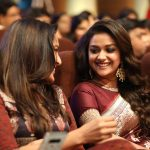 Keerthy Suresh, wallpaper, cover, saree, Seema Raja