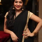 Kollywood Upoming Actress, Vj ramya, black saree