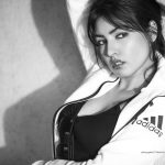 Komal Jha, Top Glamours Look, photo shoot, black and white