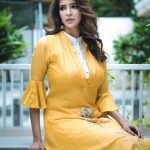 Lakshmi Manchu, Kaatrin Mozhi actress, yellow dress