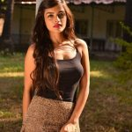 Latest Kollywood Heroines, Ashna Zaveri, black t shirt