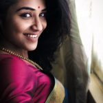 Latest Kollywood Heroines, Indhuja, Saree