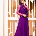 Manisha Shree, adult web series, voilet dress, modern