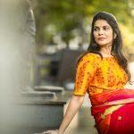 Manisha Shree, adult web series, yellow dress, sightly
