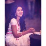 Mirnalini Ravi, Super Delux Actress, Kerala Saree, cute