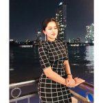 Mirnalini Ravi, Super Delux Actress, Night, Black Dress