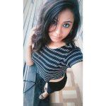 Monica Chinnakotla,  Genius Actress, selfie, top view
